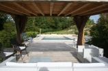 Pool and pergola